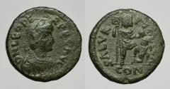 Ancient Coins - LEO I 457-474 D.C. -AE/ 20 MM    VERY RARE !
