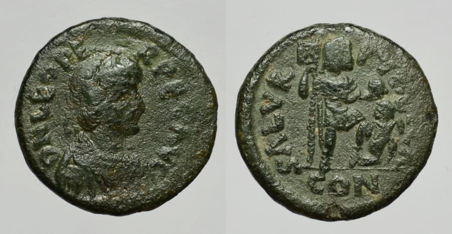 Ancient Coins - LEO I 457-474 D.C. -AE/ 20 MM    VERY RARE !