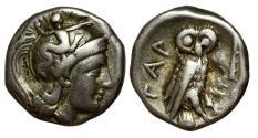 Ancient Coins - Tarentum 302-280 a.C. -ag/ Drachm
