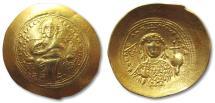 AV gold histamenon nomisma Constantine IX Monomachus, Constantinople 1042-1055 A.D.