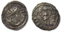Ancient Coins - HS: AR antoninianus Postumus, 260-268 A.D.
