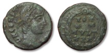 Ancient Coins - MO: AE13 Constantius II, unidentified mint 337-361 A.D.