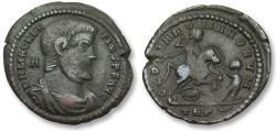 Ancient Coins - AE 25mm centenionalis Magnentius, Trier 350 A.D.