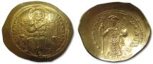 Ancient Coins - AV gold histamenon nomisma Constantine X, Constantinople 1059-1067 A.D.