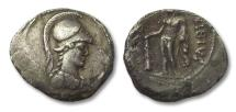 Ancient Coins - AR denarius C. Vibius Varus, Rome 42 B.C.
