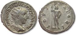Ancient Coins - AR antoninianus Gordian / Gordianus III, Rome 241-243 A.D. - IOVI STATORI -