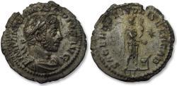 Ancient Coins - AR denarius Elagabalus, Rome mint 218-222 A.D. - SACERD DEI SOLIS ELAGAB -