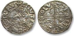 World Coins - AR quatrefoil type penny Cnut, LONDON mint 1017-1023 A.D. - moneyer SVETINC - Ex CNG, contemporary forgery?