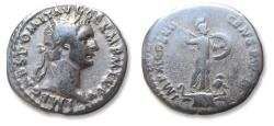 Ancient Coins - AR denarius Domitian / Domitianus, Rome mint 86 A.D. - IMP XI COS XII CENS P P P -