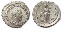"Ancient Coins - HS: AR antoninianus Philip I ""The Arab"", Rome 244-247"