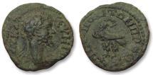 Ancient Coins - AE 17 (assarion) Septimius Severus, Moesia Inferior - Nikopolis ad Istrum 193-211 A.D -eagle-