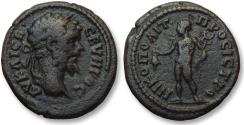 Ancient Coins - AE 18 (assarion) Septimius Severus, Moesia Inferior - Nikopolis ad Istrum 193-211 A.D - Hermes -