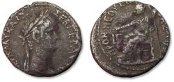Ancient Coins - BI billon tetradrachm emperor Nero. Egypt, Alexandria mint dated RY 3 = 56-57 A.D.