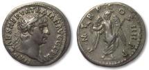 Ancient Coins - AR denarius Trajan / Trajanus, Rome 101-102 A.D.