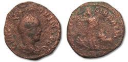 Ancient Coins - AE27 Hostilian, province of Dacia 251 A.D. -- AN V --
