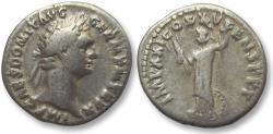Ancient Coins - AR denarius Domitian / Domitianus, Rome 90-91 A.D.