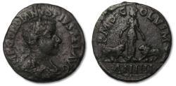 Ancient Coins - AE 30 Gordian III Moesia Superior, Viminacium -- Year 4 --