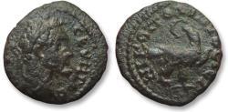 Ancient Coins - AE 16 (assarion) Septimius Severus, Moesia Inferior - Nikopolis ad Istrum 193-211 A.D -eagle-