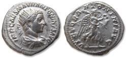 Ancient Coins - AR antoninianus, Elagabalus, Rome mint 219 A.D. - VICTOR ANTONINI AVG -