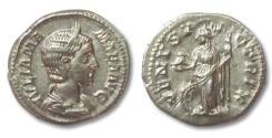 Ancient Coins - AR denarius Julia Mamaea, Rome 231 A.D.