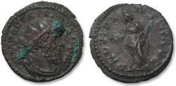 Ancient Coins - AE antoninianus Postumus, Trier 260-269 A.D. -- PROVIDENTIA AVG --