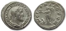 AR denarius Maximinus I Thrax, Rome 236-238 -- VICTORIA GERM --