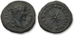 Ancient Coins - AE 18 (assarion) Septimius Severus, Moesia Inferior - Nikopolis ad Istrum 193-211 A.D. -star -