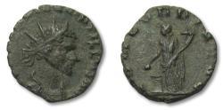 Ancient Coins - AE antoninianus Quintillus, Rome 270 A.D. -- CONCORDIA AVG --