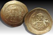 AV/EL Histamenon Nomisma Michael VII Ducas, Constantinople AD 1071-1078 - beautifully struck on both sides