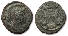 Ancient Coins - MO: AE follis Constantine I the Great, London mint 319-320 A.D.