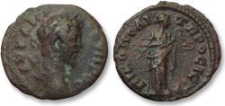 Ancient Coins - AE 17 (assarion) Septimius Severus, Moesia Inferior - Nikopolis ad Istrum 193-211 A.D -Salus-