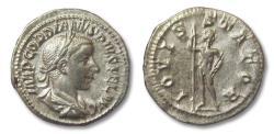 Ancient Coins - AR denarius Gordianus III, Rome 241-243 A.D. --JUPITER--