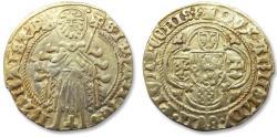 "Ancient Coins - AV/AU Dutch gold florin, Duchy of Guelders, Duke ""Arnold van Egmond"" 1423-1472"