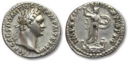 Ancient Coins - AR denarius Domitian / Domitianus, Rome 93-94 A.D.