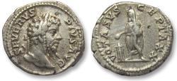 Ancient Coins - AR denarius Septimus / Septimius Severus, Rome 202-210 A.D. -- VOTA SVSCEPTA XX --