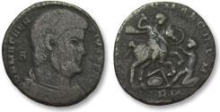 Ancient Coins - AE 23mm centenionalis Magnentius, Rome 350 A.D.