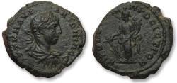 Ancient Coins - AE 19 (assarion) Elagabalus, Moesia Inferior - Nikopolis ad Istrum 218-222 A.D. - Tyche -