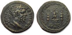 Ancient Coins - Æ 28mm pentassarion Septimius Severus- struck under Aurelius Gallus, legatus consularis, Moesia Inferior, Nikopolis AD 201-203 - large bronze in good quality -