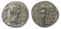 Ancient Coins - HS: AR denarius Julia Domna, Rome 193-196 A.D. --VENUS FELIX--