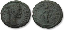 Ancient Coins - AE 17 (assarion) Septimius Severus, Moesia Inferior - Nikopolis ad Istrum 193-211 A.D -Tyche-