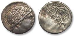 Ancient Coins - AR Denarius, L. Memmius. Rome 109-108 B.C. - brockage denarius -
