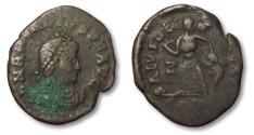 Ancient Coins - MO: AE12 Arcadius, Constantinople 395-408 A.D.