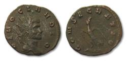 Ancient Coins - AE antoninianus DIVO Claudius II Gothicus, Rome after 270 A.D.