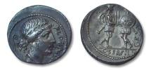 Ancient Coins - AR denarius C. Servilius C.f., Rome 57 B.C.