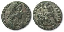 Ancient Coins - AE22 Centenionalis Constantius II, Cyzicus 337-361 A.D.