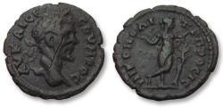 Ancient Coins - AE 17 (assarion) Septimius Severus, Moesia Inferior - Nikopolis ad Istrum 193-211 A.D -- Lizard Killer --