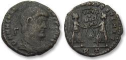 Ancient Coins - AE 20mm maiorina Magnentius, Rome mint 351-352 A.D.