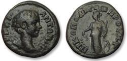 Ancient Coins - AE 17 (assarion) Caracalla, Moesia Inferior - Nikopolis ad Istrum 198-217 A.D. - Nemesis -