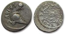 Ancient Coins - AR denarius Mn. Cordius Rufus, Rome 46 B.C. -- great coin for the type --