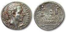 Ancient Coins - AR denarius C. Coelius Caldus, Rome 51 B.C.